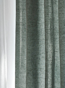 Chivasso Moss Green Curtain