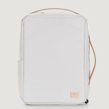 "RAWROW X KBP White Univers 13"" Backpack"