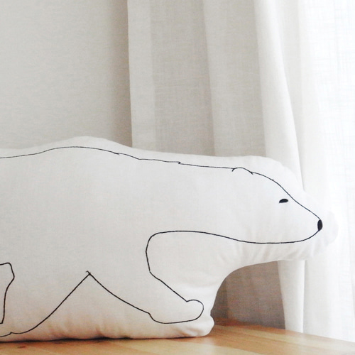 Animal Polar Bear Cushion