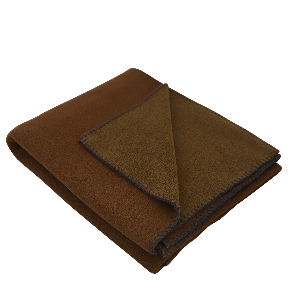 Toss Fleece Blanket Brown