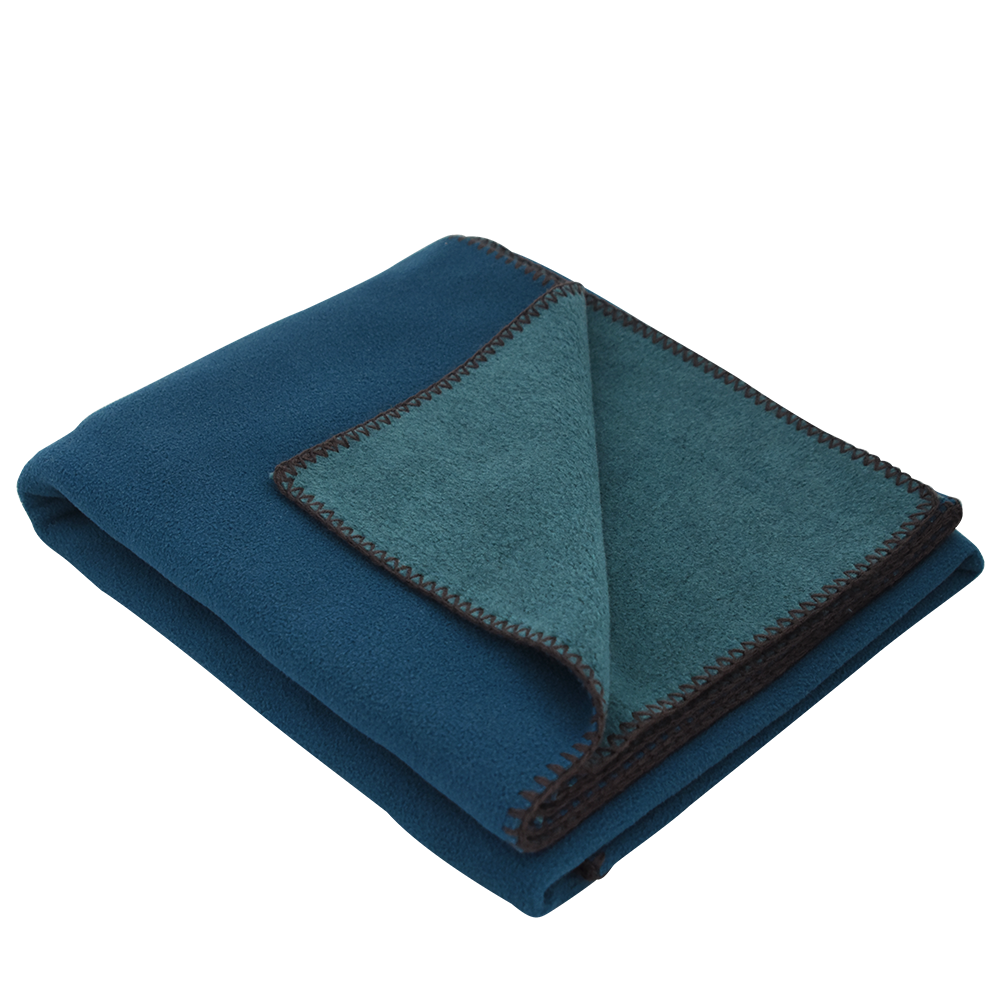 Toss Fleece Blanket Peacock