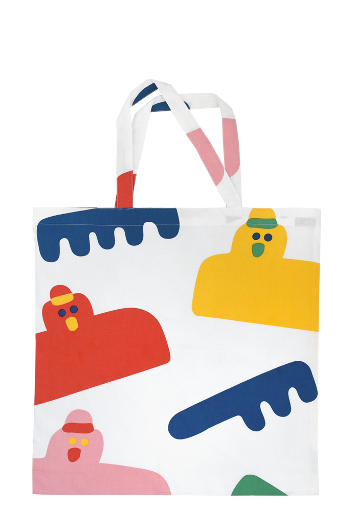 Arty Party Big Bag by Misaki Kawai