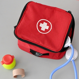 First Aid Kit RedMini Storage Bag