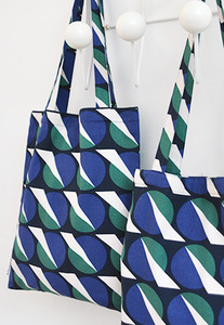 Futurism Navy Bookstore Bag