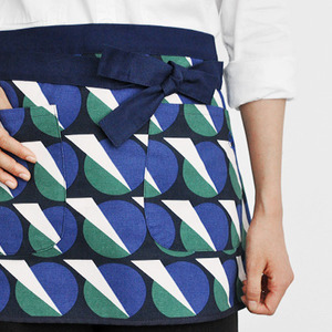 Mini Apron Futurism Navy