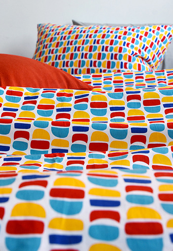 Bedding Set Colorfulmoon by Sara Castro Monteiro