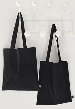 Black In Black Bookstore Bag
