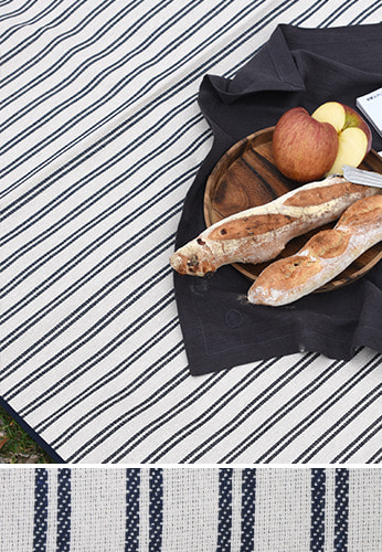 Double Stripe Picnic Mat