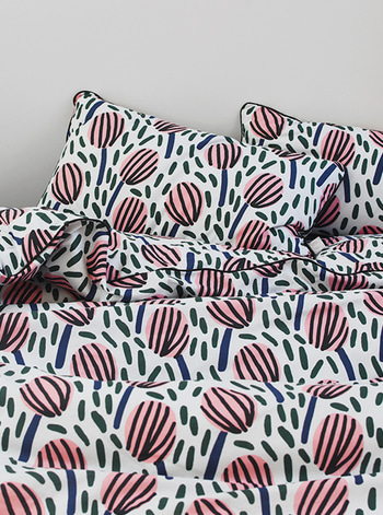 Toddler Bedding Set Tulipa by Jennifer Bouron