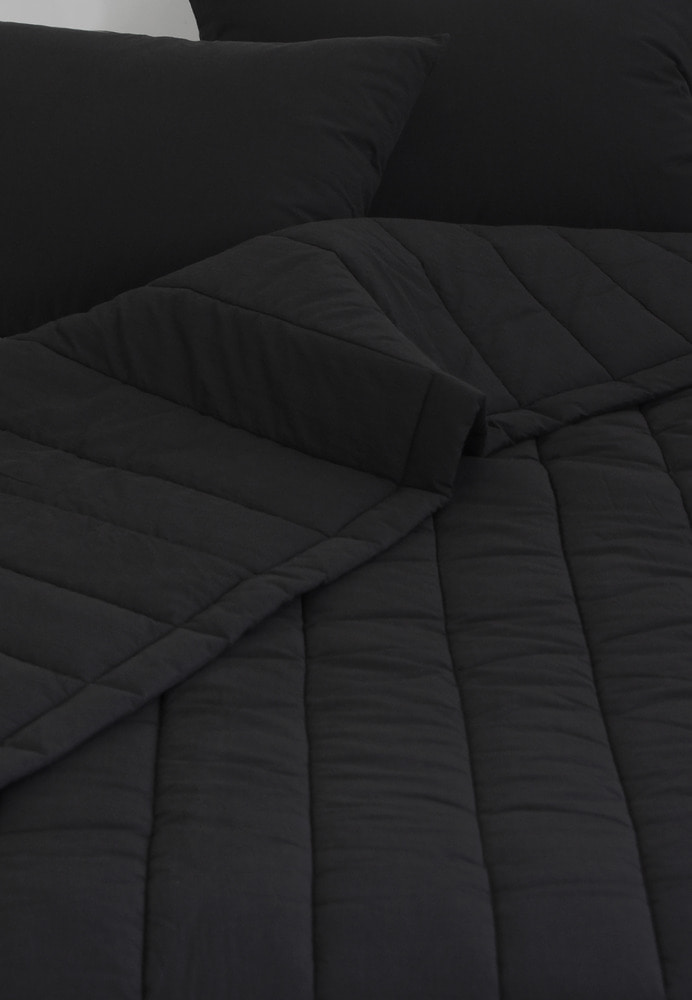 Light Black Comforter