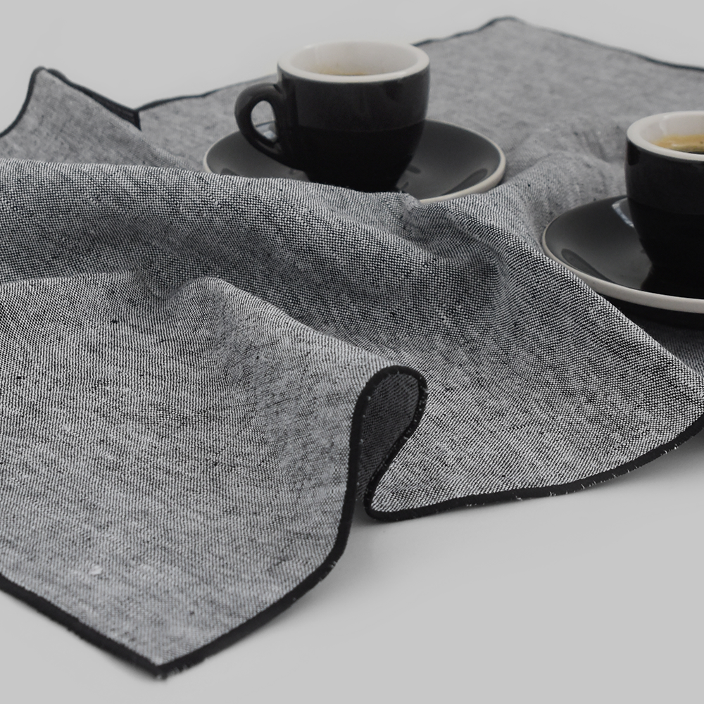 Scenery Gray Tea Cloth