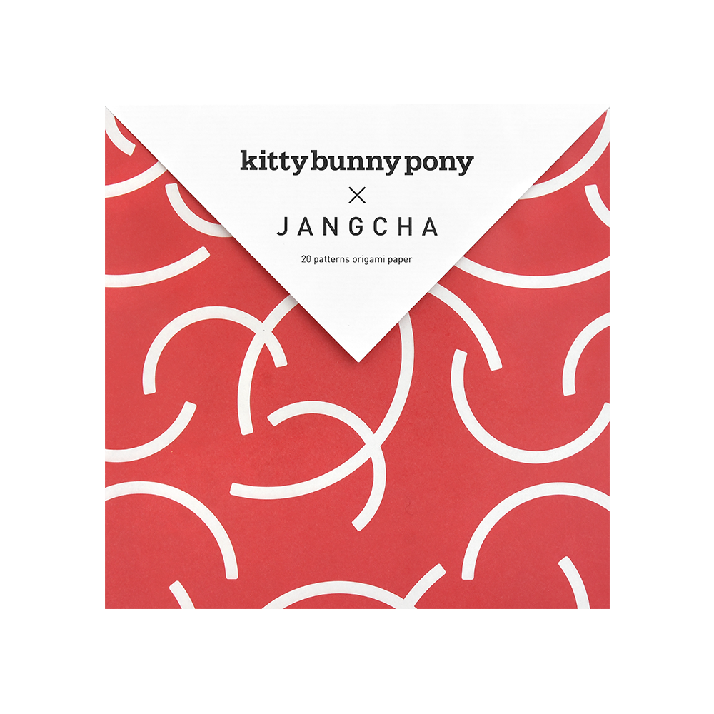KBP x Jangcha 20 Patterns Origami Paper Ⅳ