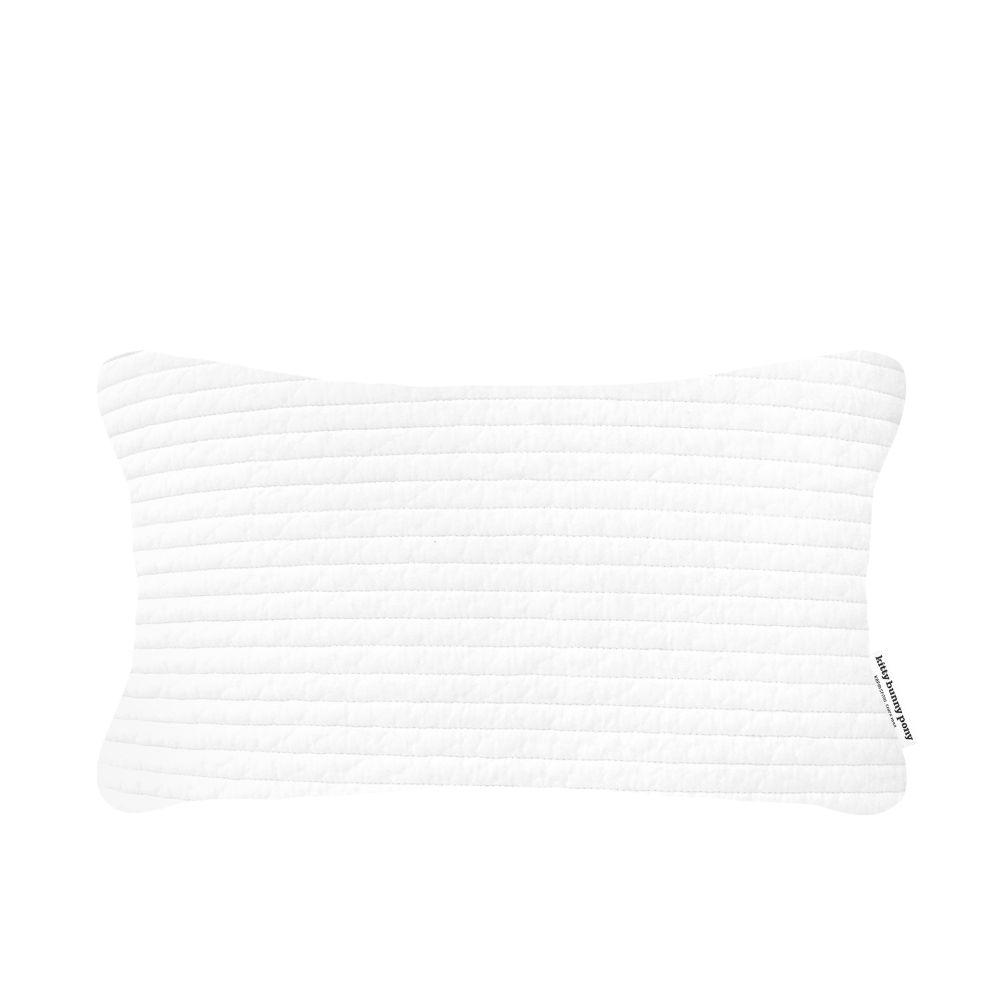 Toddler Pillowcase Embo White