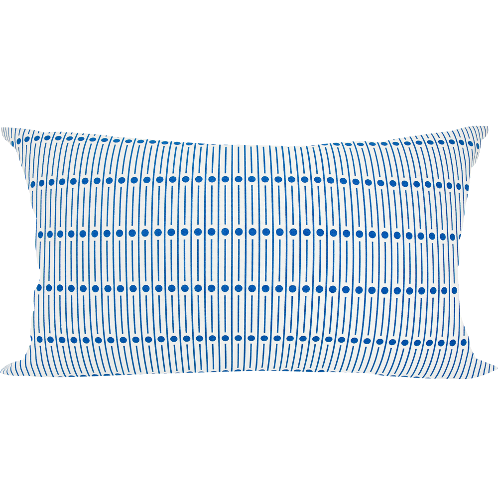 30 Miller Blue Cushion