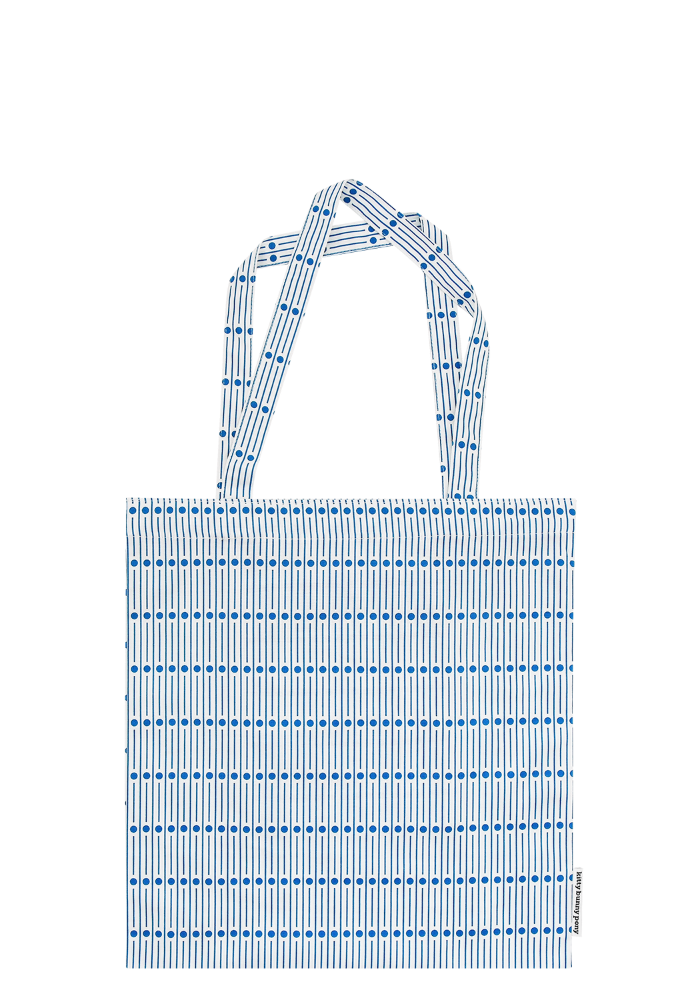 Miller Blue Square Bag