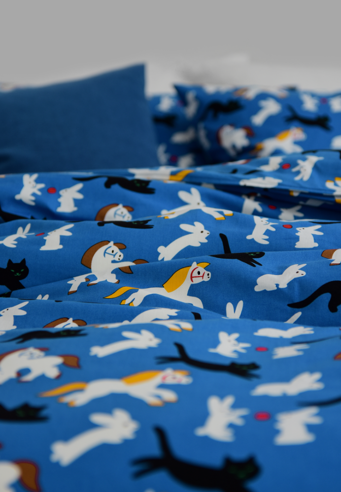 Bedding Set Kittybunnypony by Virginie Morgand