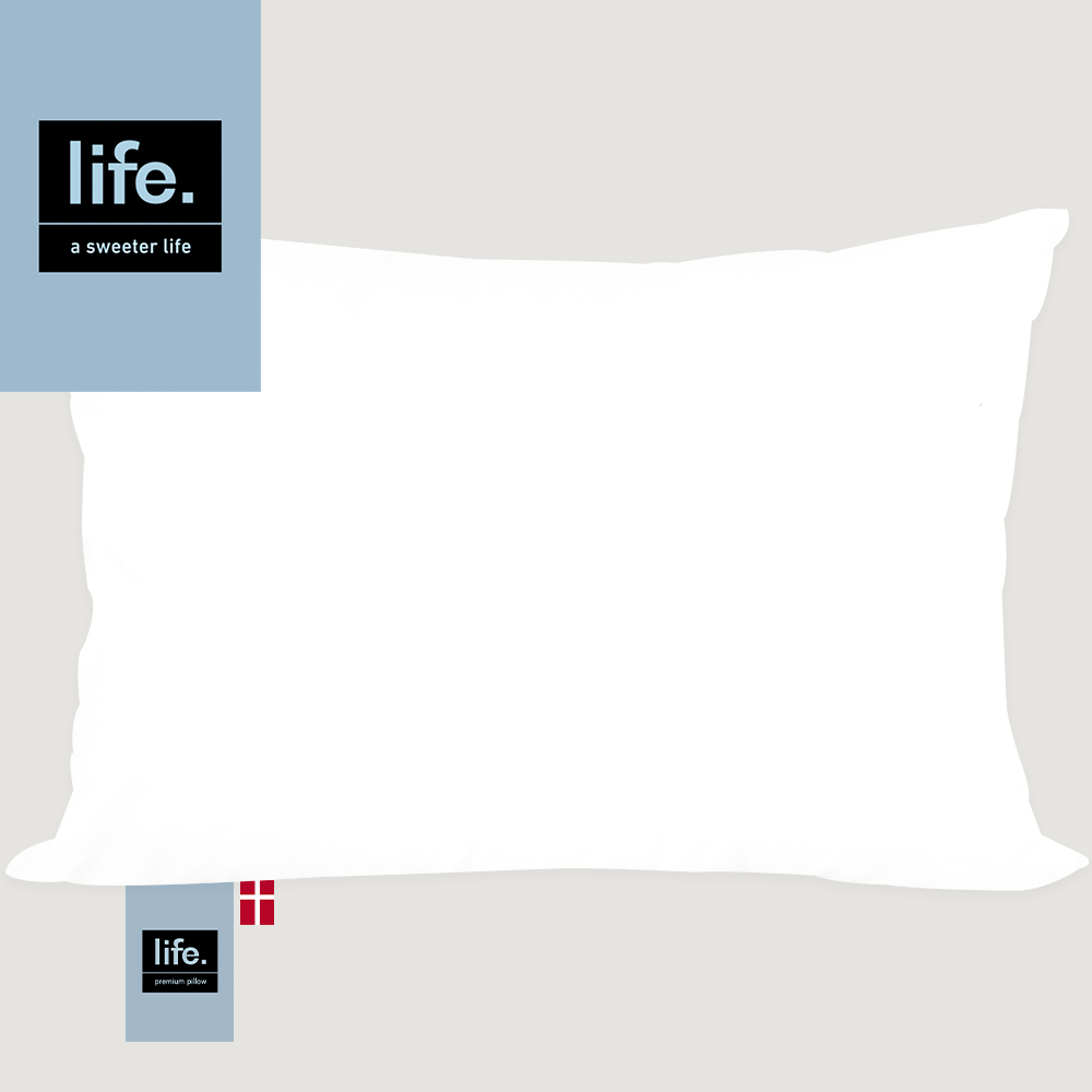 Life Goose Down Soft Pillow