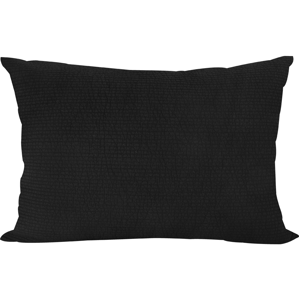 Pillowcase Embo Black