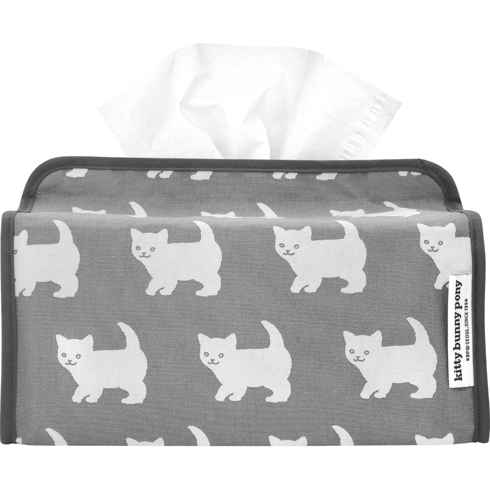 Happy Kitty Tissuebox Cover