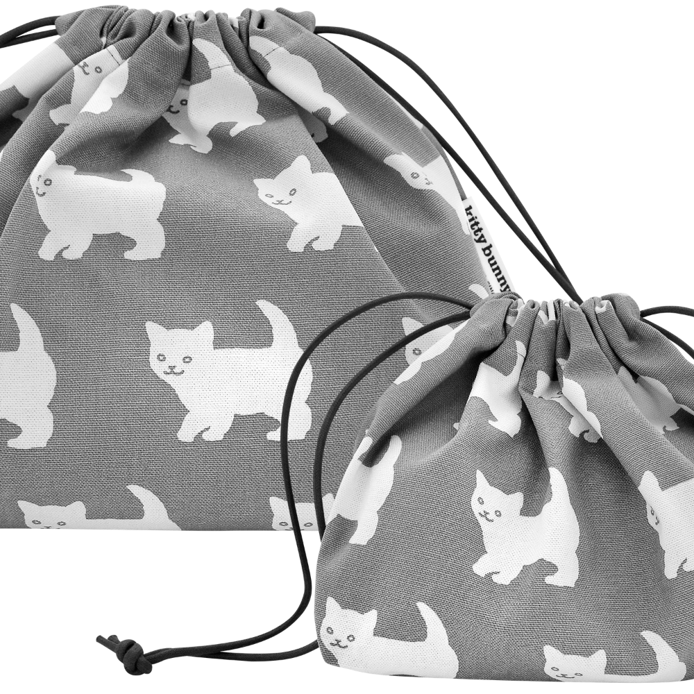 Happy Kitty Plump Pouch
