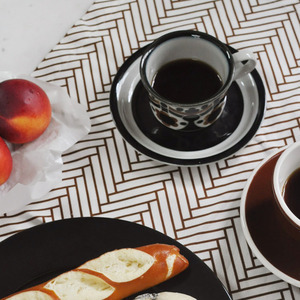 Scandic Brown Tea Cloth